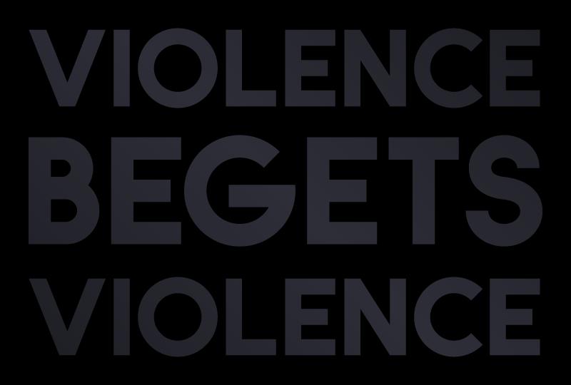 Violence Begets Violence